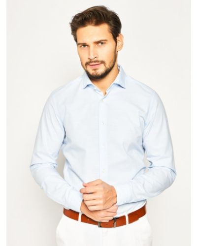 Niebieska koszula slim Strellson