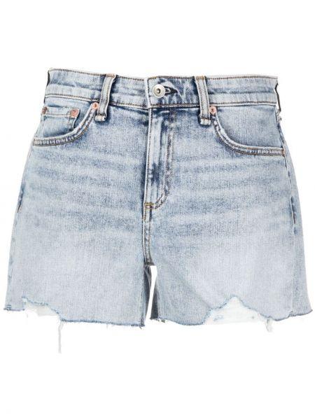 Klasyczne niebieskie jeansy bawełniane Rag & Bone