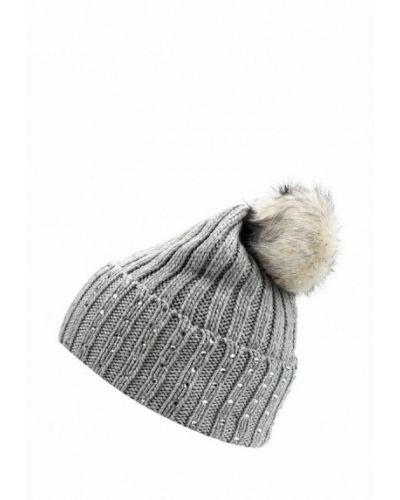 Серая шапка с помпоном Marks & Spencer