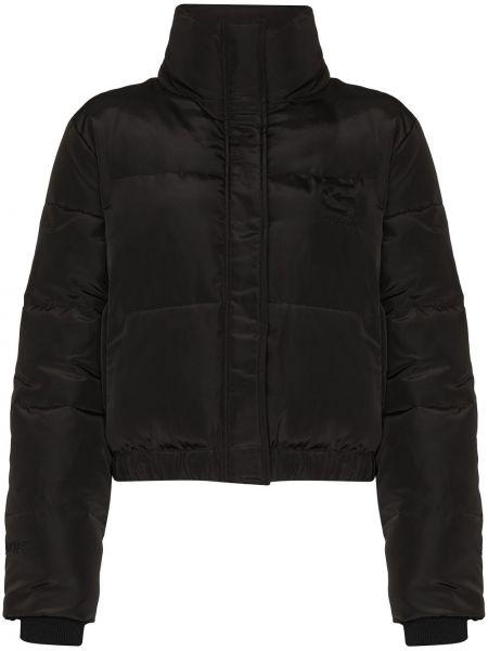 Klasyczna czarna kurtka puchowa Danielle Guizio