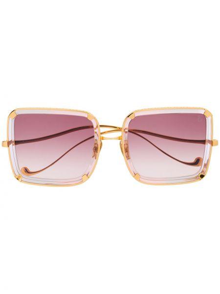 Złote różowe okulary Anna Karin Karlsson