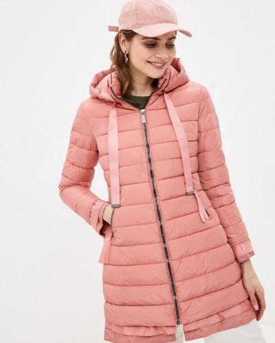 Утепленная розовая куртка Tantra