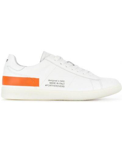 Кроссовки с логотипом белый Rov
