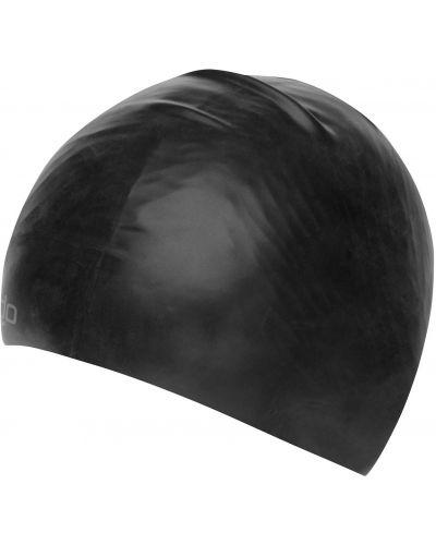 Czarna czapka silikon Speedo
