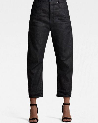Черные джинсы бойфренды G-star