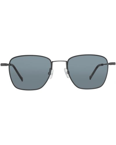 Czarne okulary Hackett