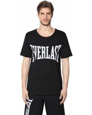 Czarny t-shirt bawełniany Everlast Ports 1961