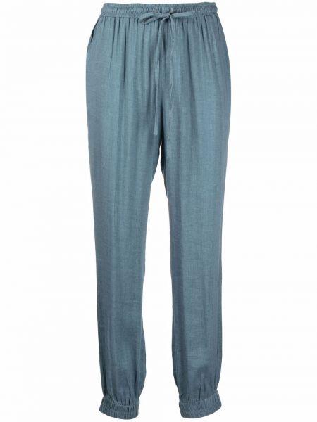 Зауженные синие брюки эластичные Gold Hawk