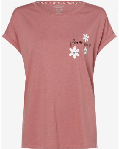 Różowa piżama w kwiaty Marie Lund