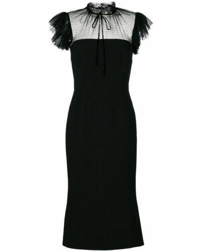 Платье миди вязаное приталенное Dolce & Gabbana