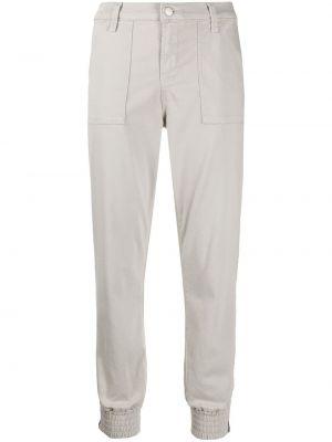 Спортивные брюки из полиэстера - серые J Brand