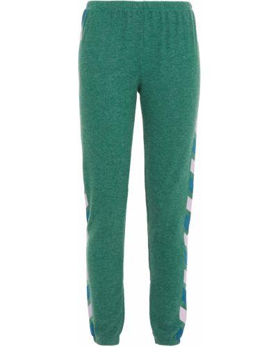 Флисовые зеленые брюки Wildfox