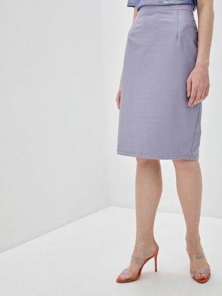 Платье кожаное фиолетовый Marissimo
