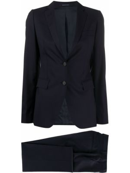 Spodni garnitur niebieski kostium Tagliatore