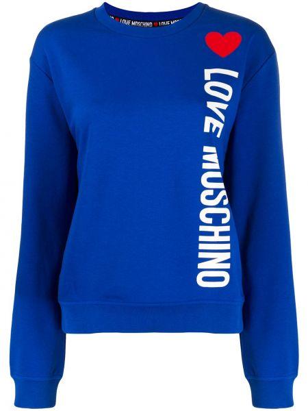 Топ свободный свободного кроя Love Moschino