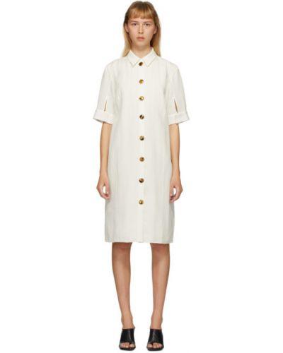 Платье на пуговицах платье-майка Partow