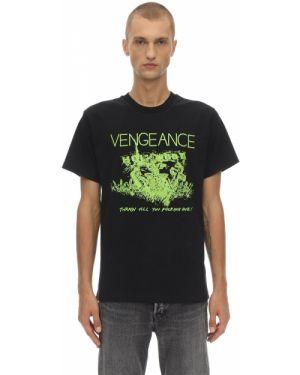 Czarny t-shirt bawełniany Nasaseasons
