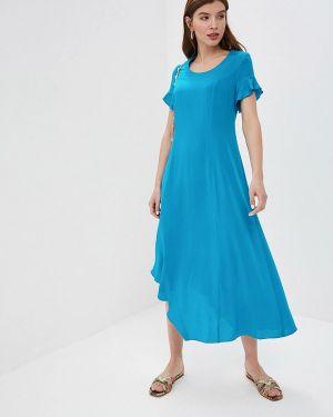 Летнее платье синее Dizzyway