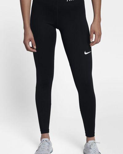 Брюки на резинке из полиэстера трикотажные Nike