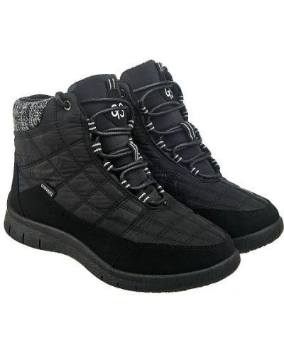 Ботинки утепленные - черные Gipanis