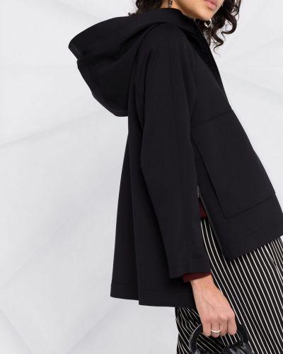 Черная куртка с капюшоном на молнии Peuterey