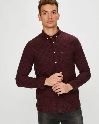 Рубашка с длинным рукавом в клетку хлопковая Lee