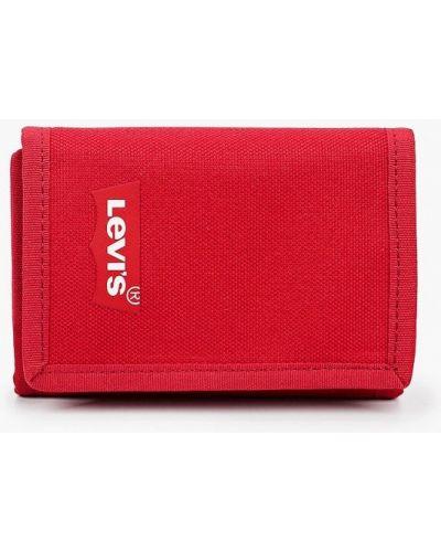 Текстильный красный кошелек Levi's®