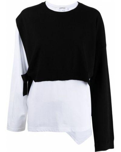 Koszulka z długimi rękawami - biała Enfold
