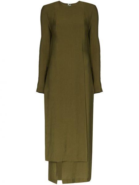 Платье миди каскадное с рукавами Matériel