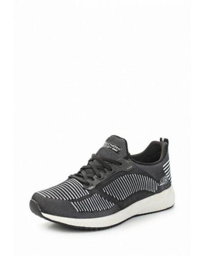 Черные кроссовки Skechers