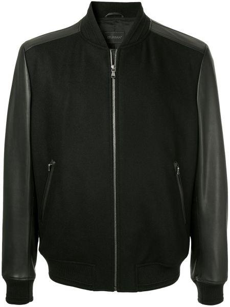 Черная куртка с манжетами D'urban