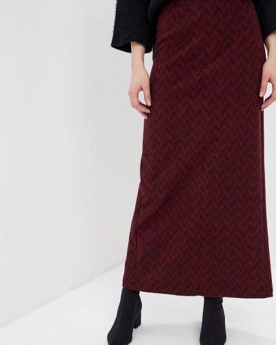 Юбка широкая бордовый Sahera Rahmani