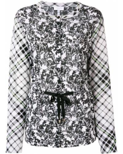 Блузка с вырезом - белая Escada Sport