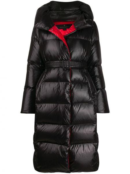 Пальто с капюшоном оверсайз айвори с карманами с перьями Nicole Benisti