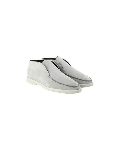 Серые ботинки с мехом Enrico Mandelli