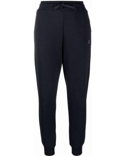Синие брюки с вышивкой Vivienne Westwood