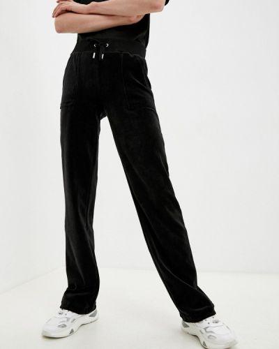 Спортивные брюки - черные Juicy Couture
