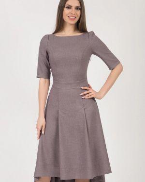Платье миди - серое Olivegrey