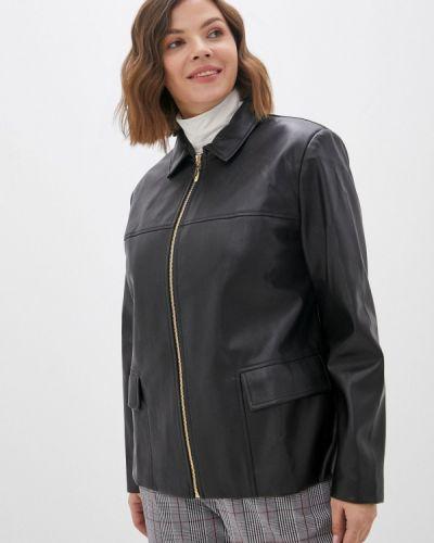 Кожаная черная куртка Balsako