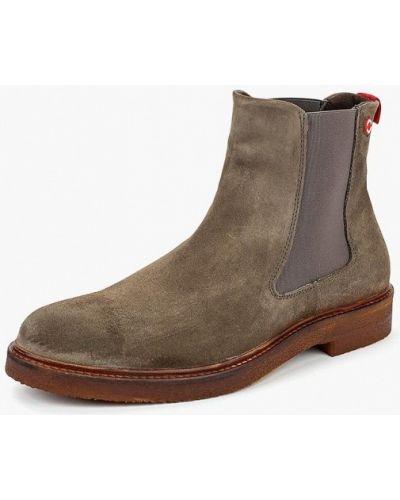 Ботинки челси осенние замшевые Nobrand
