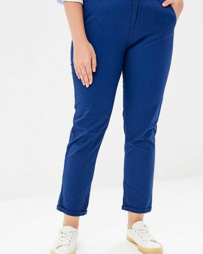 Синие зауженные брюки Iwie
