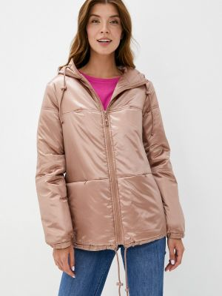Утепленная куртка - бежевая Budumamoy