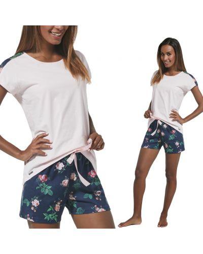 Пижамные шорты - синие Cornette