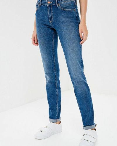 Синие джинсы-скинни Wrangler