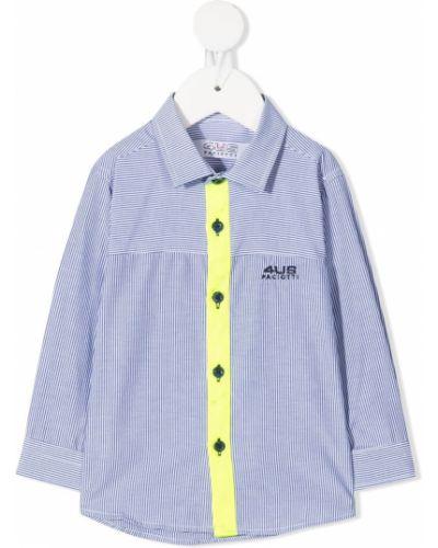 Классическая белая классическая рубашка с воротником на пуговицах Cesare Paciotti 4us Kids