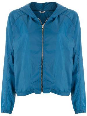 Куртка с капюшоном - синяя Uma   Raquel Davidowicz
