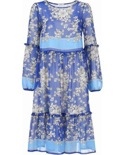 Платье весеннее синее P.a.r.o.s.h.