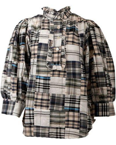 Beżowa bluzka Antik Batik