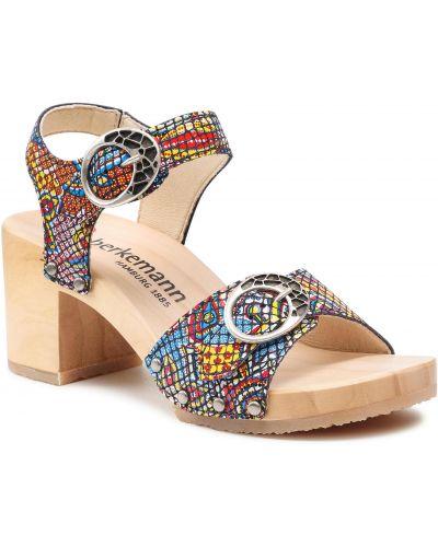 Sandały zamszowe Berkemann