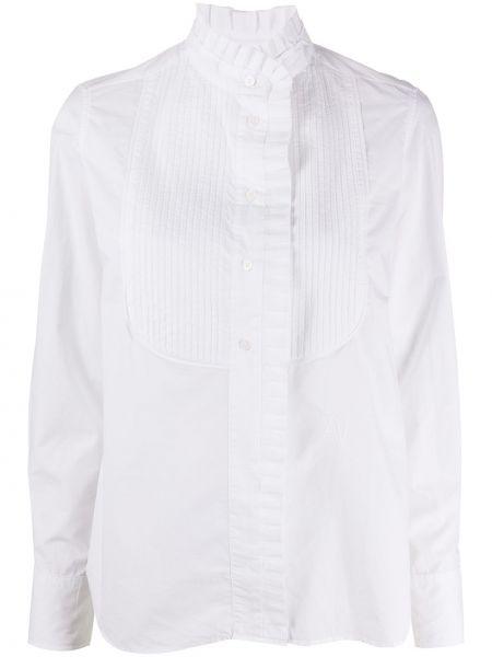 С рукавами белая блузка с воротником Zadig&voltaire